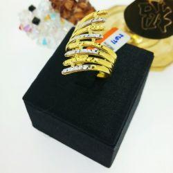 แหวน ปีกนกชุบทองคำขาว