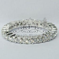 แหวนเพชร Eternity เพชรรอบนิ้ว 1.21 กะรัต สี F+ (98+) VVS