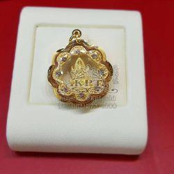 จี้พระพุทธชินราช กรอบทอง 90%