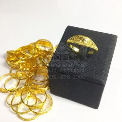 แหวน 1 กรัม โปร่งนิยม