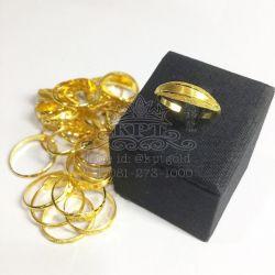 แหวน 1 กรัม โปร่งตัดลาย