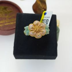 แหวน ดอกไม้ลงยาสีหวาน